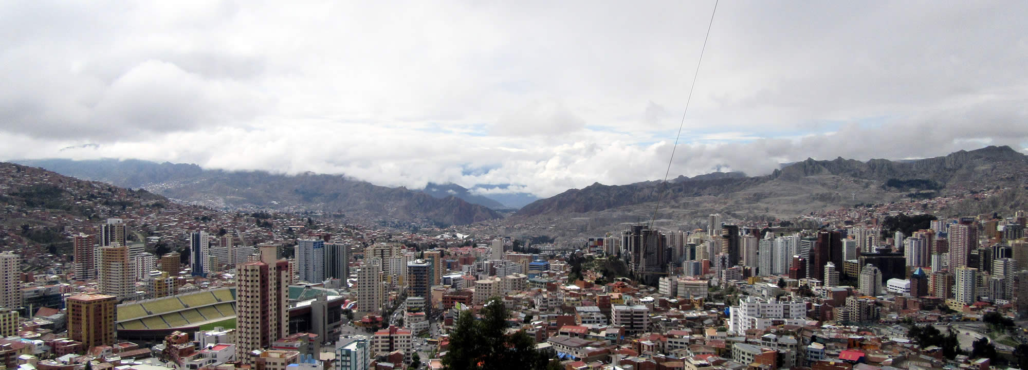 La Paz, city of wonder high in the Andes